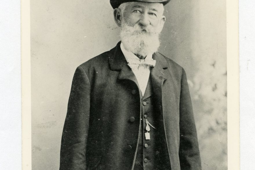 Henry George Rosenbaum moved to San Juan Capistrano in 1869 and became one of the area's ranch owners. Photo: Courtesy of San Juan Capistrano Historical Society