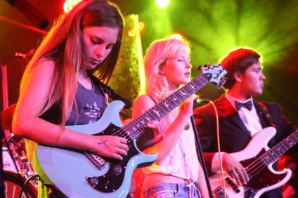 The Los Rios Rock School performed a tribute to Queen at the Coach House in July. Photo: Allison Jarrell