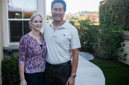 Cedric and Michelle Choan. Photo: Allison Jarrell