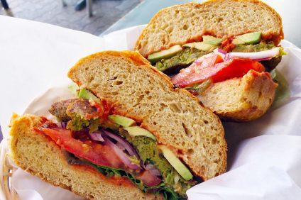 portofino veggie burger