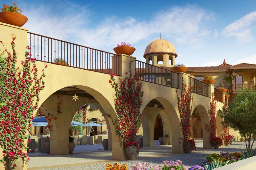 HotelCapistrano_Courtyard Arches