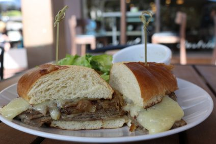 What a Dish's French Dip. Photo: Matt Cortina