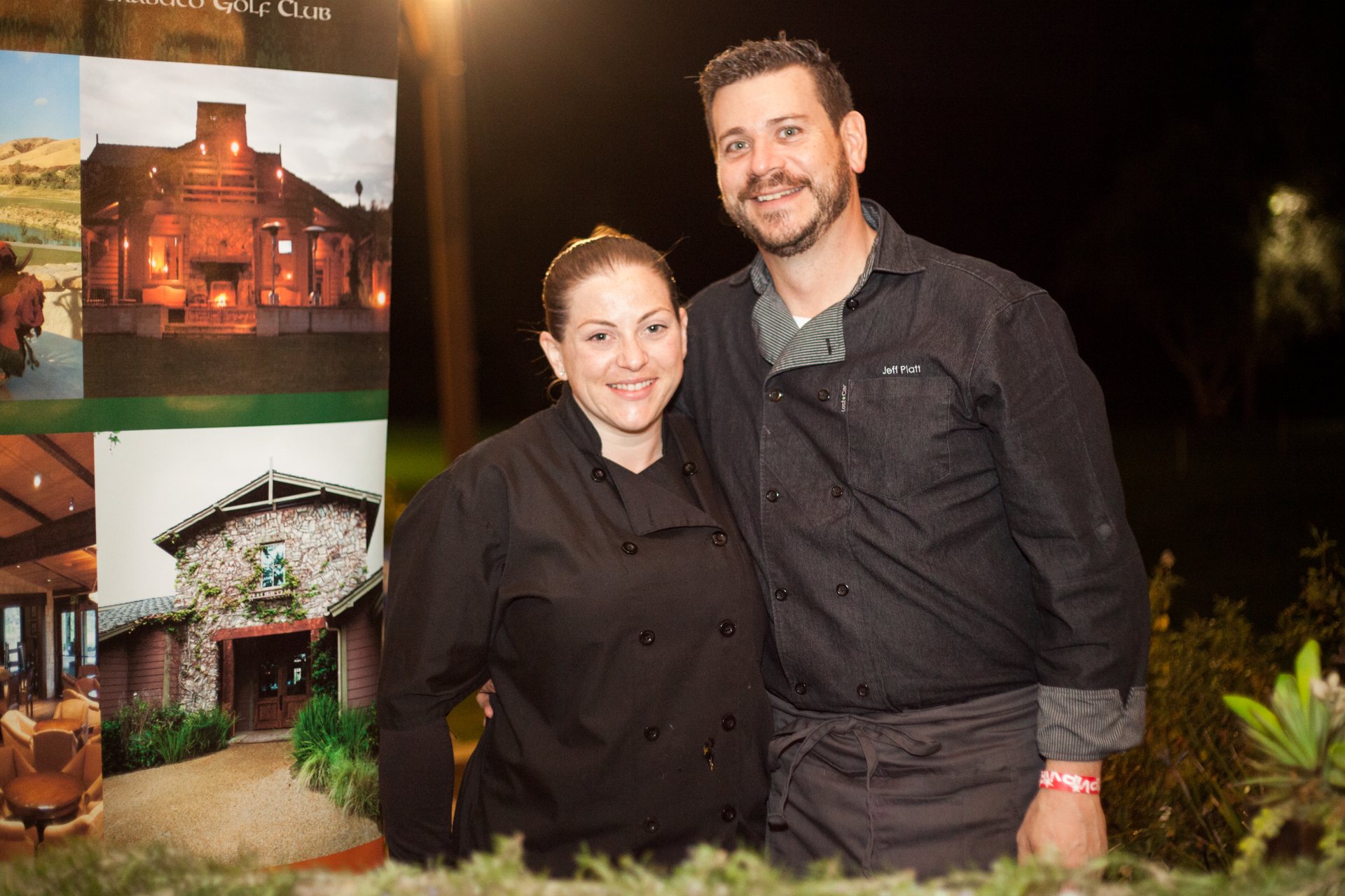 From O'Neill's Bar and Grill, Holly Hart, lead line cook, and Jeff Platt, executive chef, served braised pork wing with apricot mirin glaze. Photo: Alex Paris