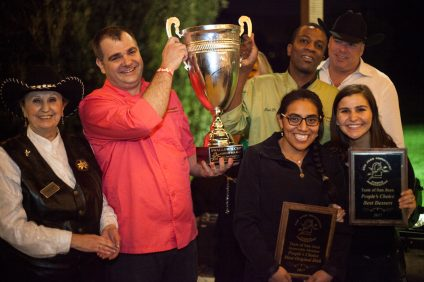 Ô Gourmet French Café & Bakery claimed the Swallow's Cup in addition to an award for best dessert and an honorable mention for most original dish. Photo: Alex Paris