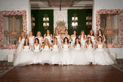 The debutantes of the Laguna Chapter of the National Charities League spent more than 6,600 cumulative hours volunteering in the last six years. Photo: Courtesy of Bird Studio