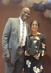 James Littlejohn with 2016 Youth of the Year Sarah Arce. Photo: Courtesy of the Boys & Girls Clubs of Capistrano Valley