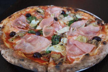 Pizza Capricciosa. Photo: Matt Cortina