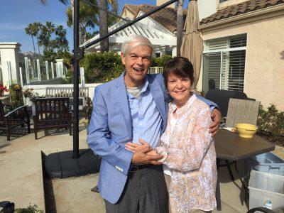 Phil and Sue Hamlin Williams. Photo: Tom Blake