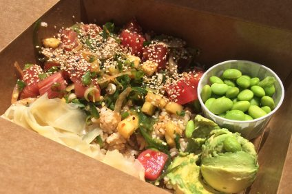 Tuna Poke from Kamea Poke. Photo: Matt Cortina