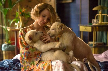 Jessica Chastain stars as Antonina Zabinski in director Niki Caro's The Zookeeper's Wife, a Focus Features release.