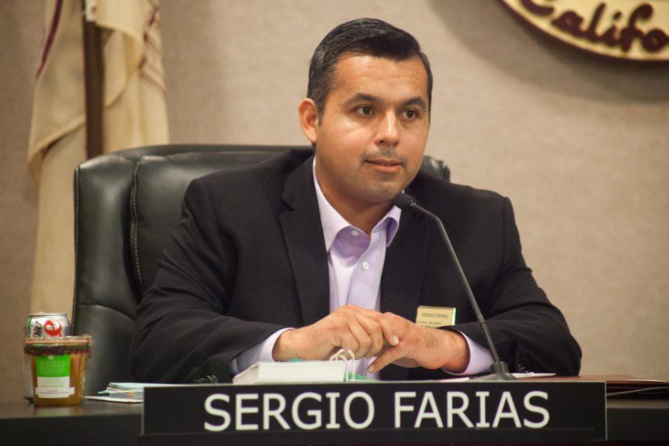 Mayor Pro Tem Sergio Farias, who represents District 1, was the target of a notice of intent to recall submitted to the city on May 19. Photo: Allison Jarrell