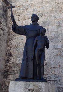 The Serra statue in Havana, Cuba. Photo: Jan Siegel
