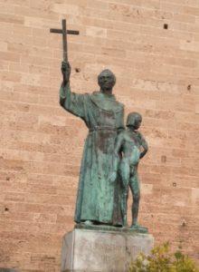 The Serra statue in Palma, Mallorca in Spain. Photo: Jan Siegel