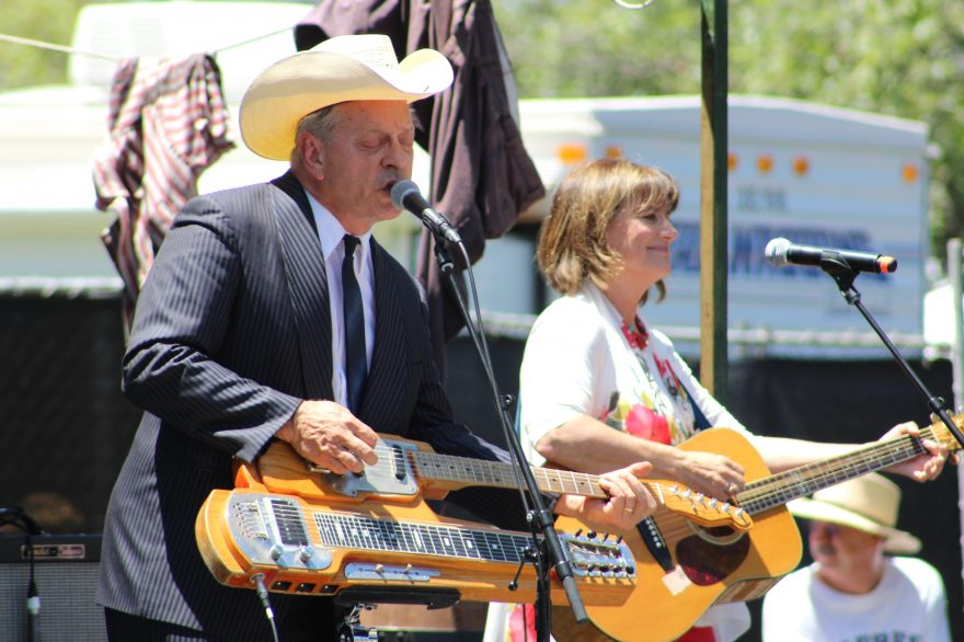 Junior Brown performed at the Doheny Blues Festival on May 21. Photo: Kristina Pritchett
