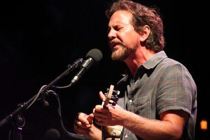 Eddie Vedder. Photo:Allison Jarrell