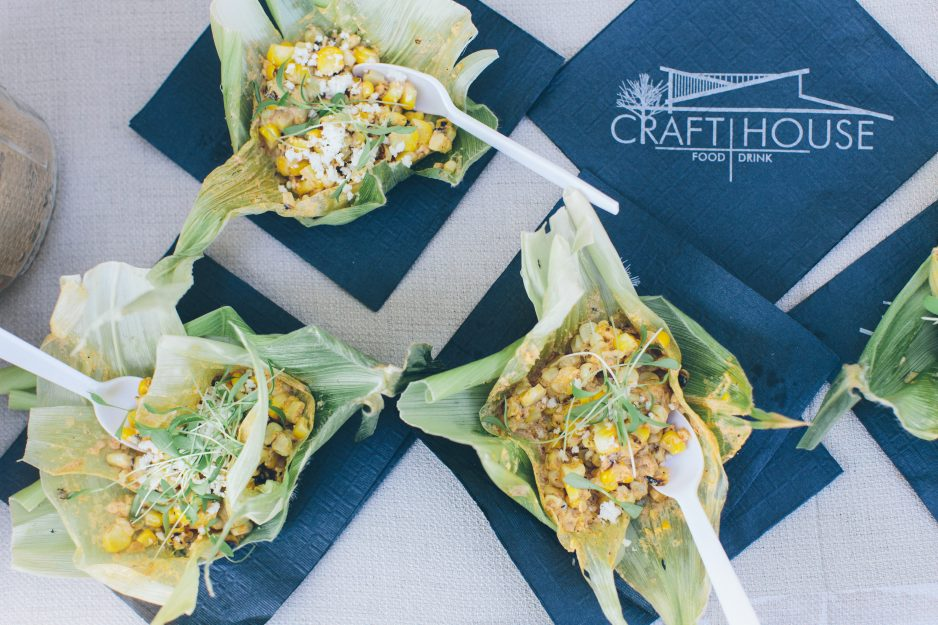 Craft House's locally-sourced Mexican street corn dish took top honors at The Ecology Center's annual Eco App Off on June 24. Photo: Michelle Montgomery/Michelle Marie Photography