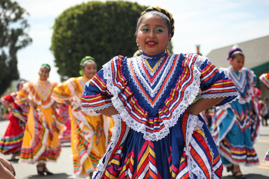 Each year, members of Ballet Folklorico de San Juan Capistrano perform in the Swallows Day Parade. Photo: Allison Jarrell