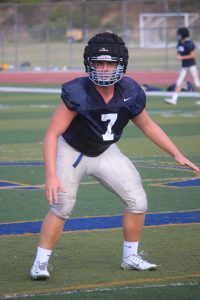 Ryan Gifford will play middle linebacker for San Juan Hills. Photo: Steve Breazeale