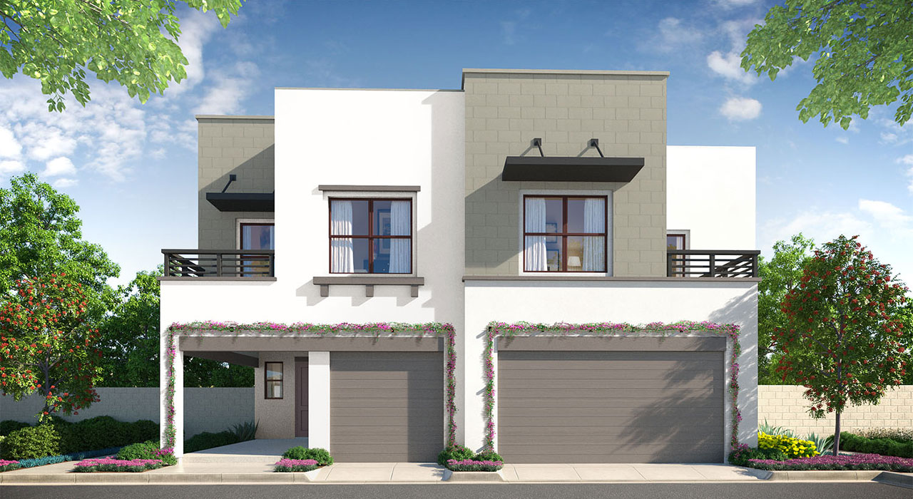A rendering of one of the floor plans available at Esencia's new NorthWalk Neighborhoods. Image: Courtesy of Rancho Mission Viejo.