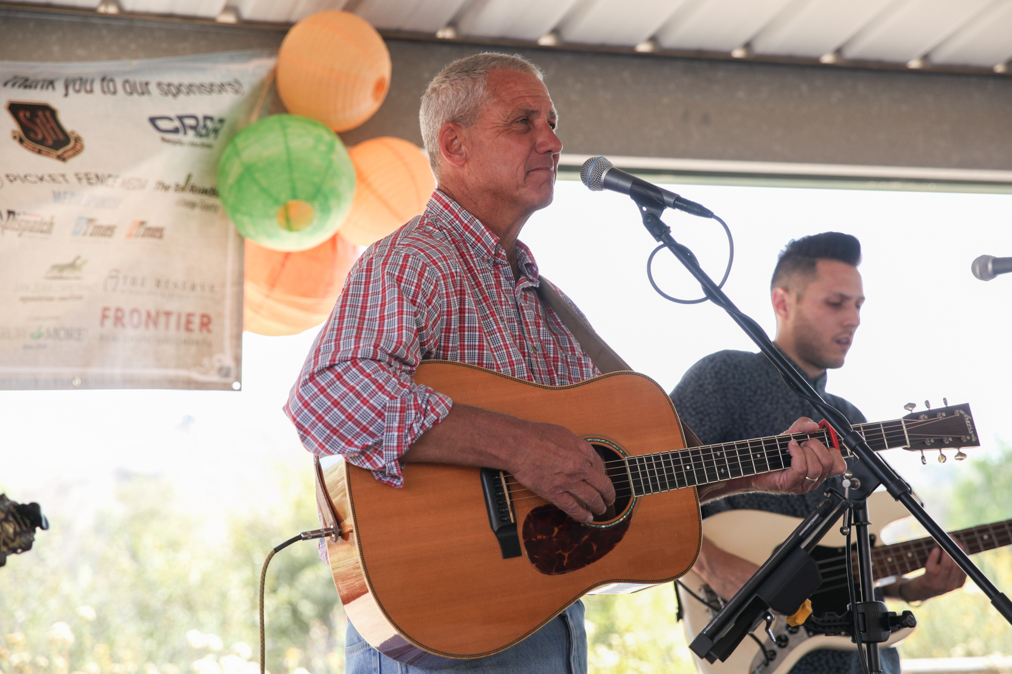 Bluegrass band Whitewater performs during Fall Fest on Oct. 15. Photo: Allison Jarrell