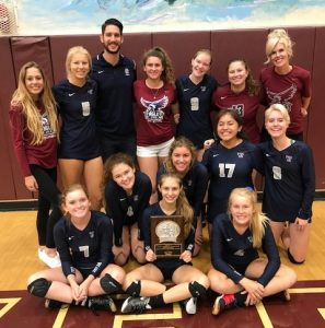 The CVCS girls volleyball team. Photo: Courtesy