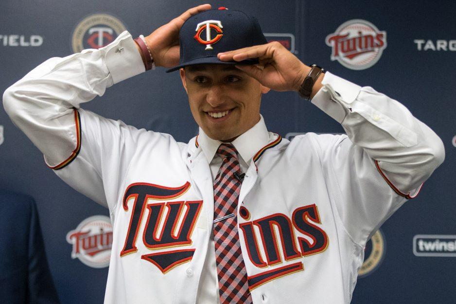 JSerra grad Royce Lewis was taken No.1 overall by the Minnesota Twins in the 2017 MLB Draft. Photo: Courtesy