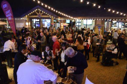 More than 1,600 people gathered at The Taste of San Juan on Thursday, Feb. 8. Photo: Emily Rasmussen