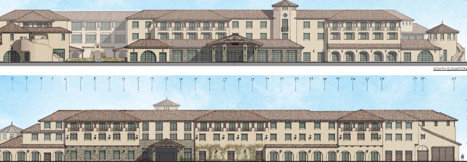 A rendering of the Plaza Banderas Hotel project. Photo: Courtesy of the city