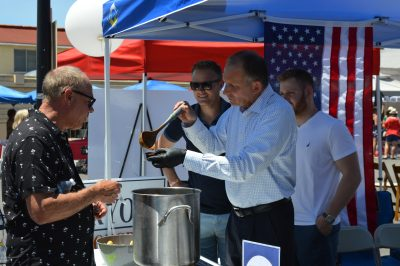 Brian Maryott, 49th Congressional Candidate and San Juan Capistrano Mayor Pro Tem, featured a 'Congressional Chili' at the Chili Cook Off on May 5. Photo: Emily Rasmussen
