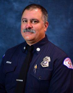Long Beach Fire Department Capt. David Rosa. Photo: Courtesy