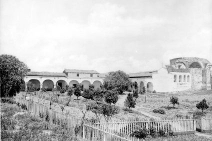 – Father St. John O'Sullivan was involved with many of The Mission's restoration projects during the early 1900s. Photo courtesy of San Juan Capistrano Historical Society.