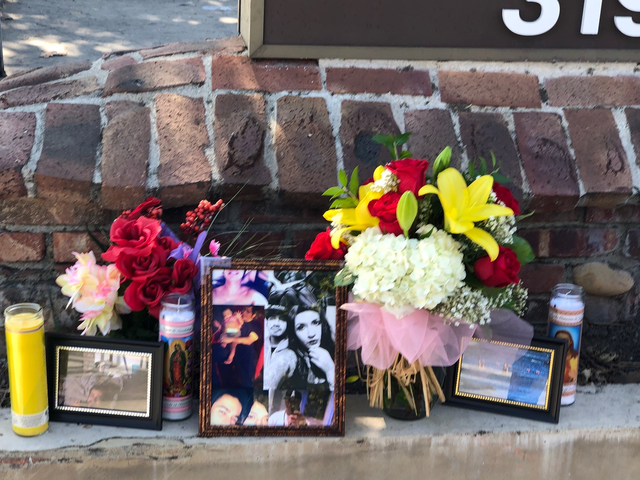 A memorial honoring a San Juan Capistrano man who died after being Tasered sits in the 32000 block of Camino Capistrano. Photo: Anthony Ramirez