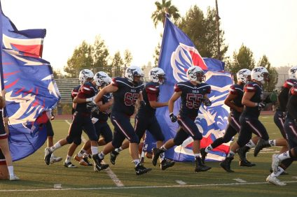 Capistrano Valley Christian comes into 2018 with a smaller roster but renewed optimism with a chance to compete in the reorganized Academy League. Photo: Zach Cavanagh