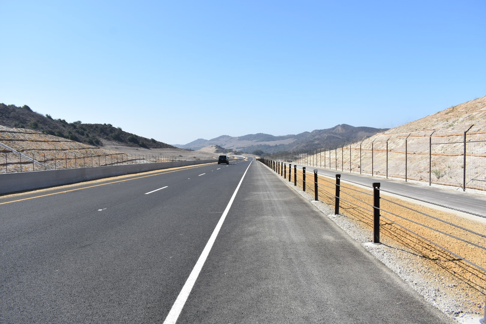 The first phase of Los Patrones Parkway — a new, four lane arterial highway through Rancho Mission Viejo — opened to the public on Sept. 12. Photo: Alex Groves.