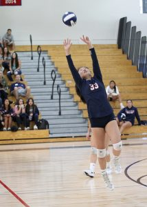 St. Margaret's girls volleyball, ranked No. 1 in Division 4, looks to bounce back from a first-round playoff exit last season and make some noise. Photo Courtesy