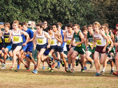 The St. Margaret's boys and girls cross country teams are both ranked No. 1 in CIF-SS Division 5 and look to capture titles this season. Photo Courtesy