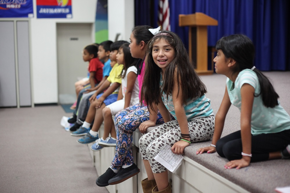 Students get ready to participate in a theater class during their first week of CREER's summer program. CREER will be having a benefit concert Nov. 8 to support its programs. Photo: File