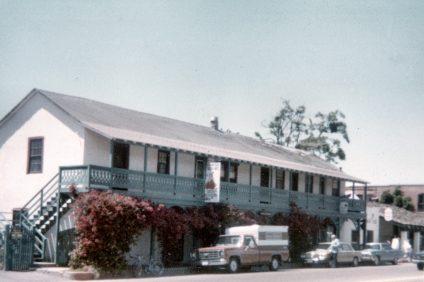 Historic Adobes on Camino Capistrano, circa 1979. Photo: Courtesy of Orange County Archives.