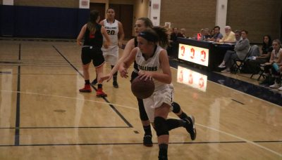 San Juan Hills senior Liza Hladek returns as the leading scorer for the girls basketball team that is looking to improve its fortunes. Photo: Zach Cavanagh