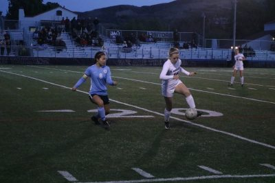 St. Margaret's senior Lauren Otterbein is part of an experienced and talented girls soccer team that is looking to overcome a playoff loss and succeed. Photo: Zach Cavanagh