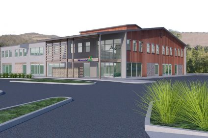 A rendered image of what the new MemorialCare health center will look like once completed. Courtesy of MemorialCare