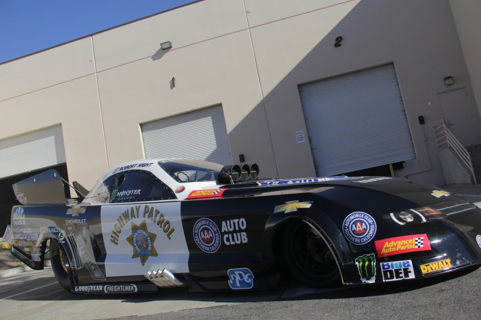 During the San Juan Capistrano 2019 Car Show on Feb. 2, the Rotary Club will feature the Chevrolet Camaro SS Nitro Funny Car sponsored by the Auto Club of Southern California.