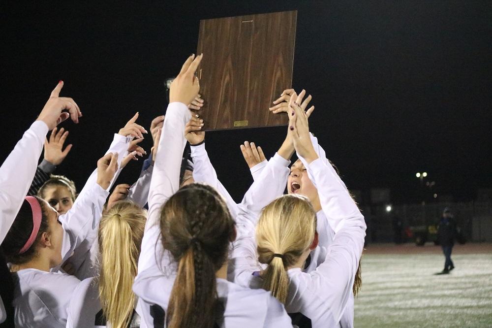 JSerra girls soccer wins third consecutive CIF-SS championship. Photo: Zach Cavanagh