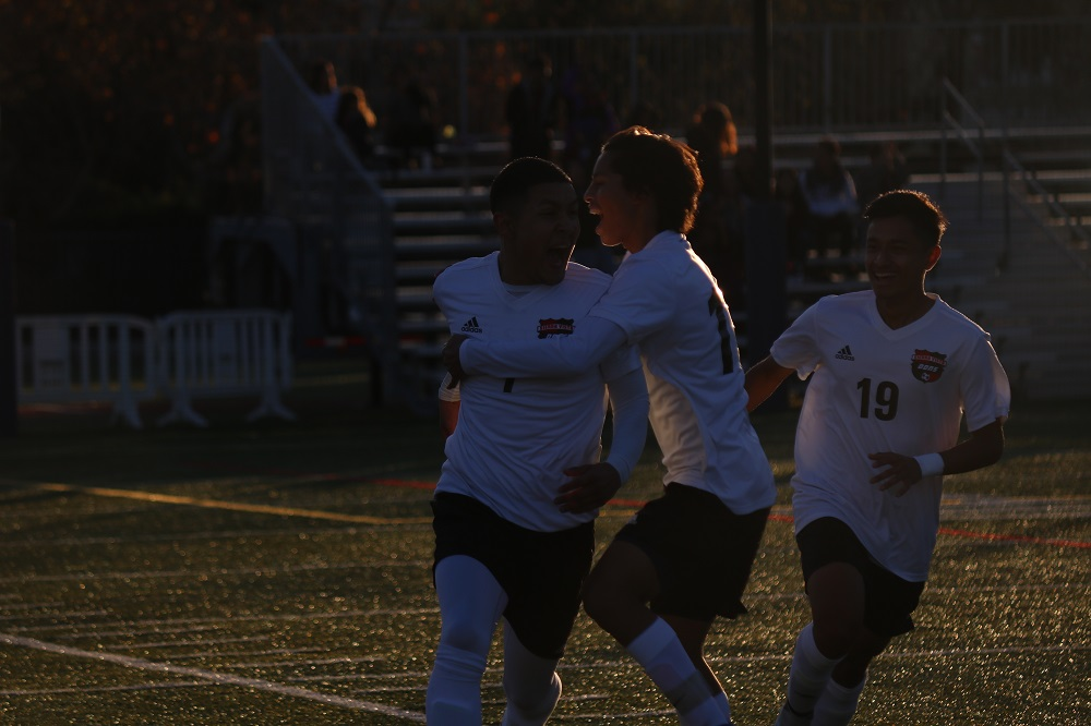 St. Margaret's was the runner-up in CIF-SS Division 5 after 2-1 loss to Sierra Vista. Photo: Zach Cavanagh