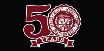 MFMS 50 Ann Logo Next Door