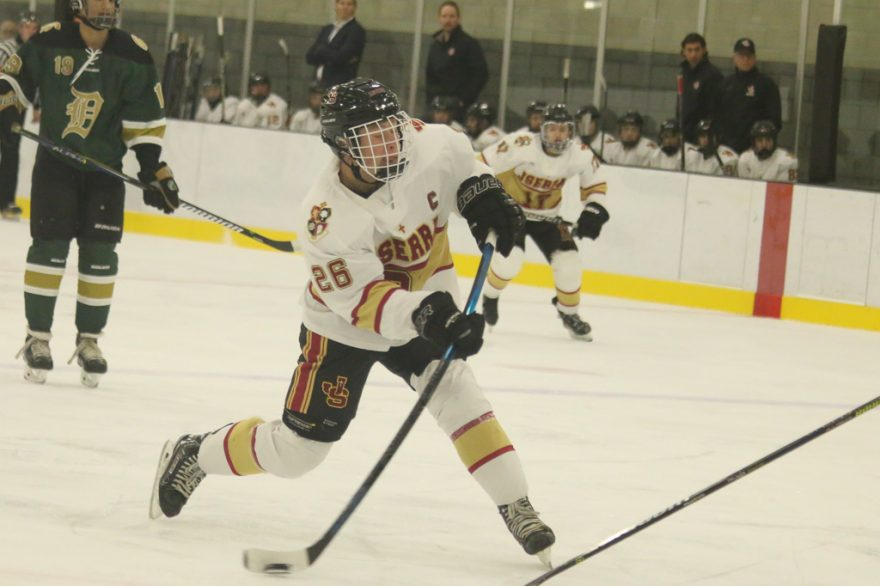 JSerra hockey will play in the USA Hockey National Championships on March 28 in Cleveland after state and Anaheim Ducks High School Hockey League titles. Photo: Eric Heinz
