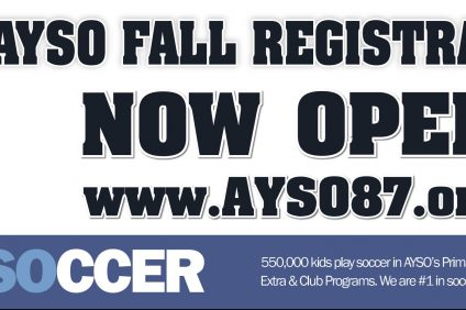 AYSO FALL Registration NOW OPEN (2018)