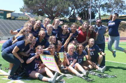 St. Margaret's girls lacrosse wins back to back US Lacrosse Southern Section titles. Photo: Zach Cavanagh