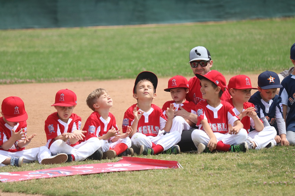 The San Juan Capistrano Little League awarded its first Dave Rosa Awards in memory of the late Long Beach Fire Captain as part of the league's Closing Day ceremonies on Saturday, May 18 at Hausdorfer Field at the San Juan Sports Park. Photos: Zach Cavanagh
