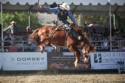 With the PRCA season winding down, the Rancho Mission Viejo Rodeo is an important step for contestants hoping to compete in the Wrangler National Finals Rodeo in Las Vegas this December. Photo: Allison Jarrell